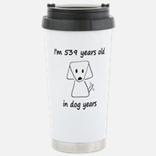 77 dog years 6 Travel Mug