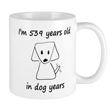 77 dog years 6 Mugs