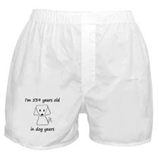 77 dog years 6 Boxer Shorts