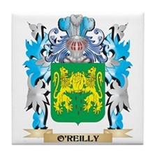 O'Reilly Coat of Arms - Family Crest Tile Coaster