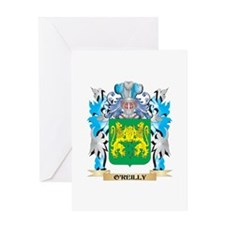 O'Reilly Coat of Arms - Family Cres Greeting Cards