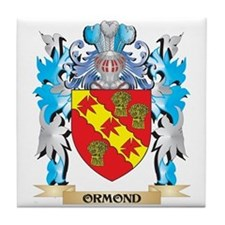 Ormond Coat of Arms - Family Crest Tile Coaster