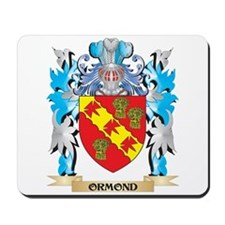 Ormond Coat of Arms - Family Crest Mousepad
