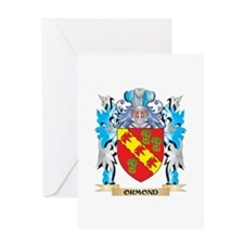 Ormond Coat of Arms - Family Crest Greeting Cards