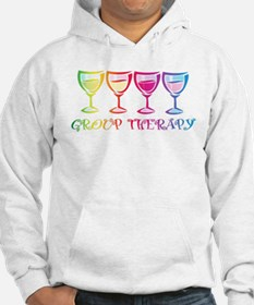 Wine Group Therapy 2 Jumper Hoody