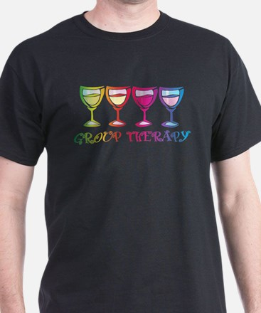 Wine Group Therapy 2 T-Shirt