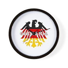 GERMANIA FLAG EAGLE Wall Clock