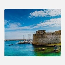 The Castle and the Sea. Throw Blanket