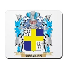 Osbourn Coat of Arms - Family Crest Mousepad