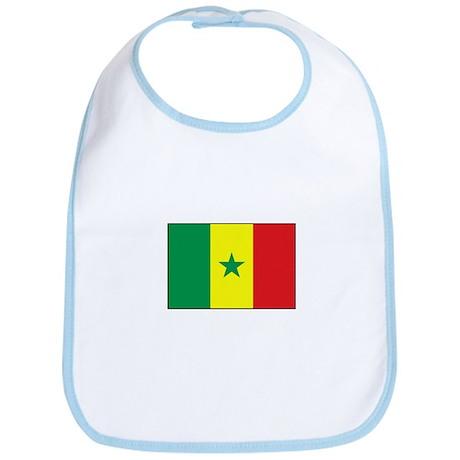 Senegal Flag - Gambia Bib