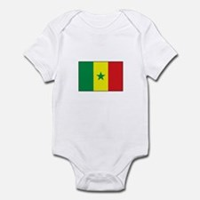 Senegal Flag - Gambia Infant Bodysuit