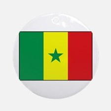 Senegal Flag - Gambia Ornament (Round)