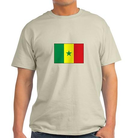 Senegal Flag - Gambia Light T-Shirt