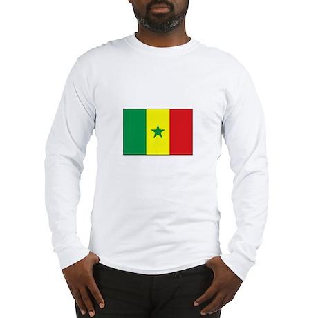 Senegal Flag - Gambia Long Sleeve T-Shirt