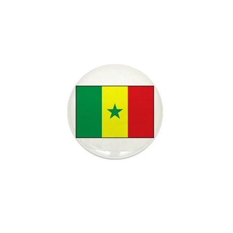 Senegal Flag - Gambia Mini Button