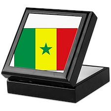 Senegal Flag - Gambia Keepsake Box