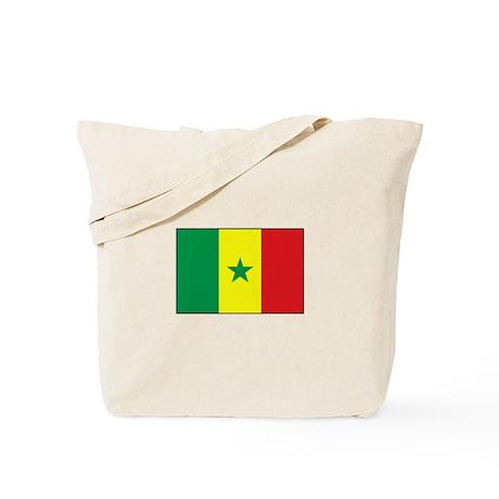 Senegal Flag - Gambia Tote Bag