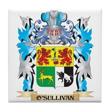 O'Sullivan Coat of Arms - Family Cres Tile Coaster