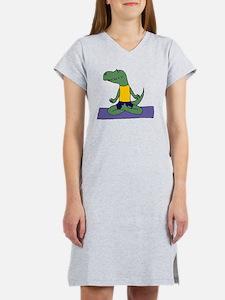 Dinosaur Yoga Women's Nightshirt