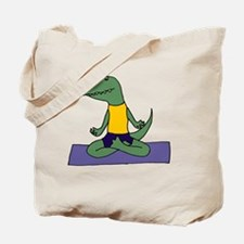 Dinosaur Yoga Tote Bag