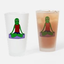 Yoga Pickle Drinking Glass