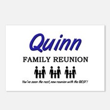 Quinn Family Reunion Postcards (Package of 8)