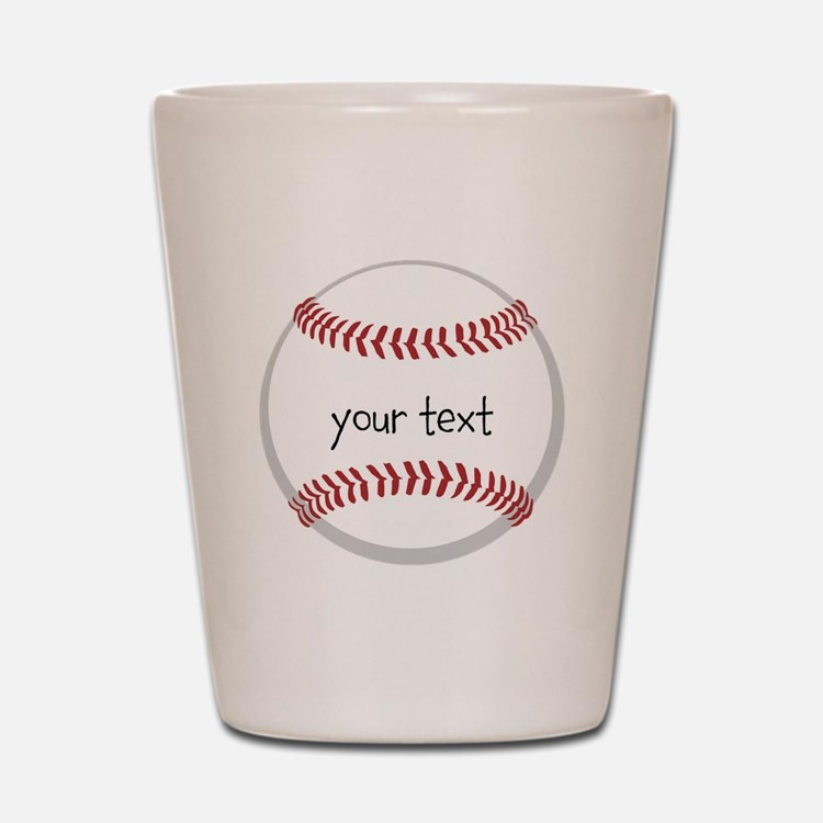 Baseball Shot Glass