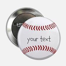 """Baseball 2.25"""" Button (10 pack)"""