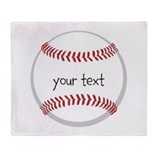 Baseball Throw Blanket