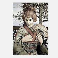 Vintage Geisha Postcards (Package of 8)