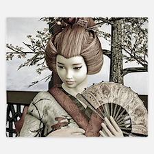 Vintage Geisha King Duvet