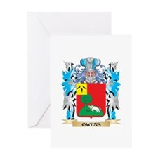Owens- Coat of Arms - Family Crest Greeting Cards