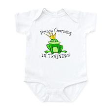 Frog Prince Charming Training Baby Bodysuit
