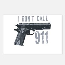 I don't call 911 Postcards (Package of 8)