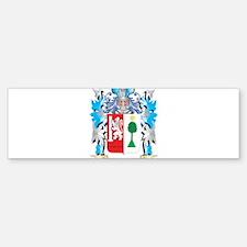 Padron Coat of Arms - Family Crest Bumper Bumper Bumper Sticker