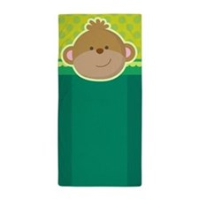 Funny Monkey Zoo Animal Beach Towel
