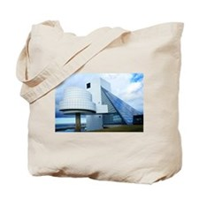 Rock Roll Hall of Fame and Museum Tote Bag