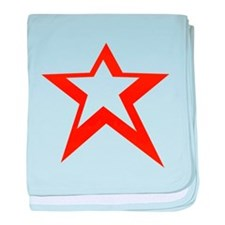 Victory Star baby blanket