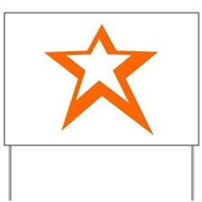 Victory Star Yard Sign