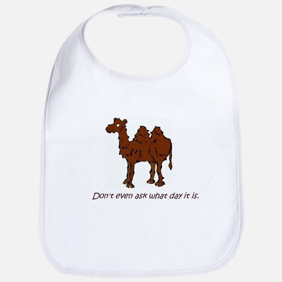 CAMEL - Don't even ask what day it is Bib