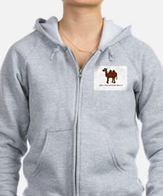 CAMEL - Don't even ask what day Zip Hoodie