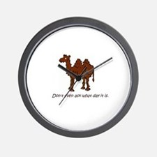 CAMEL - Don't even ask what day it is Wall Clock