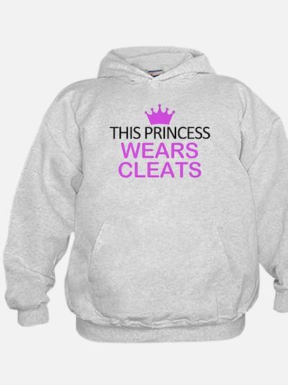 This Princess Wears Cleats Hoodie