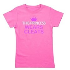 This Princess Wears Cleats Girl's Tee