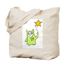 Starry Monster Tote Bag