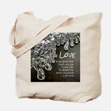 How much You Prove Tote Bag