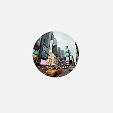 Super! Professional photo Times Square Mini Button