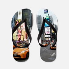 Super! Professional photo Times Square Flip Flops