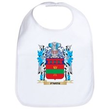 Parisi Coat of Arms - Family Crest Bib