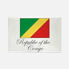 Republic of the Congo - Flag Rectangle Magnet